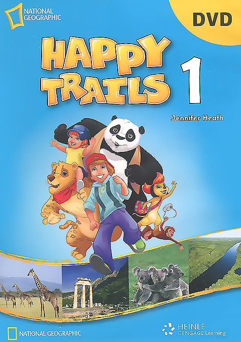Happy Trails 1 DVD happy trails 2 activity book