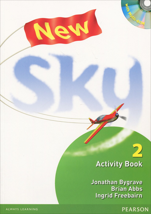 цена на New Sky: 2 Activity Book (+ CD-ROM)