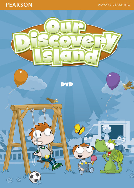 Our Discovery Island Starter DVD our discovery island 3 dvd