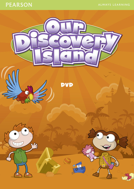 Our Discovery Island 1 DVD our discovery island 4 active teach