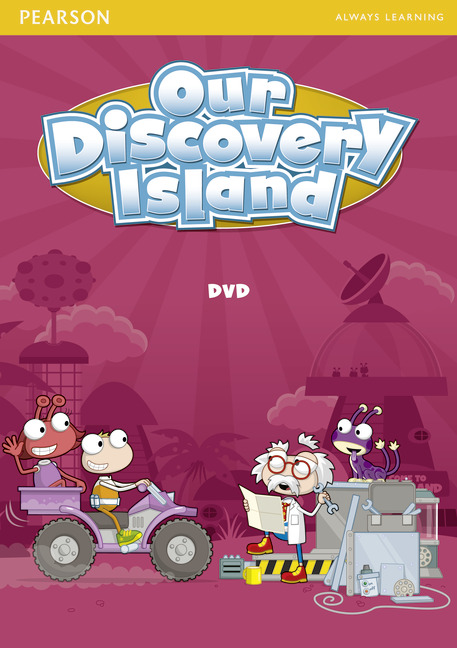Our Discovery Island 2 DVD our discovery island 4 active teach