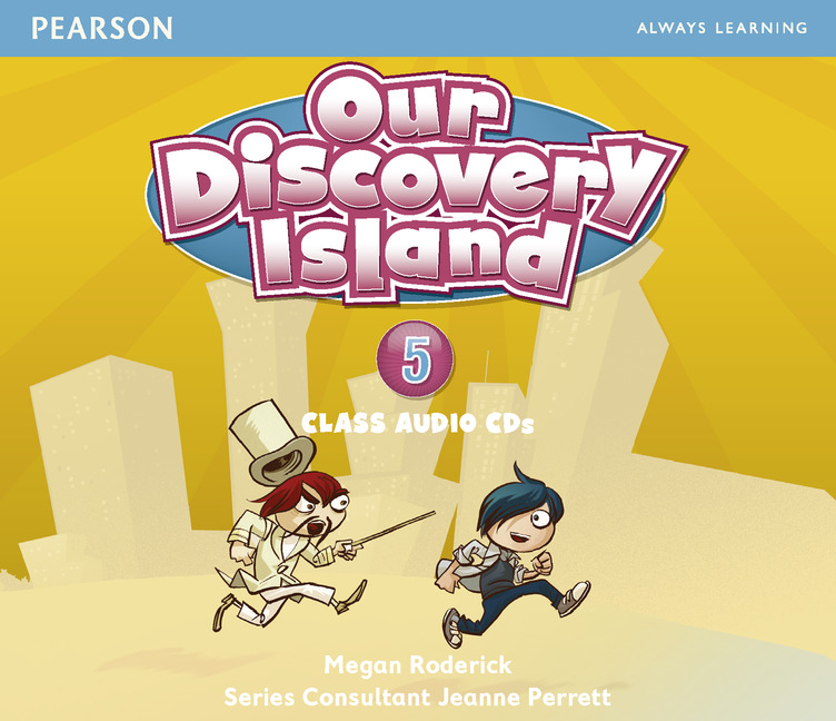 Our Discovery Island 5 Audio CD !! our discovery island 5 dvd
