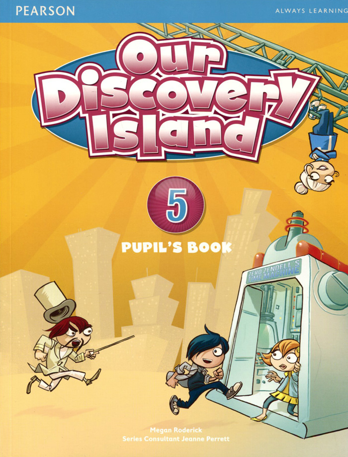 Our Discovery Island: Level 5: Pupil's Book our discovery island 5 dvd