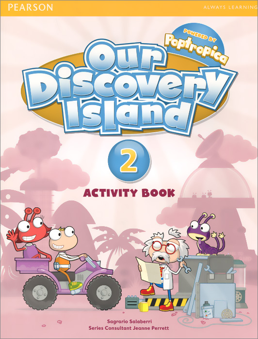 Our Discovery Island: Level 2: Activity Book (+ CD-ROM) our discovery island 4 audio cd 3 лцн