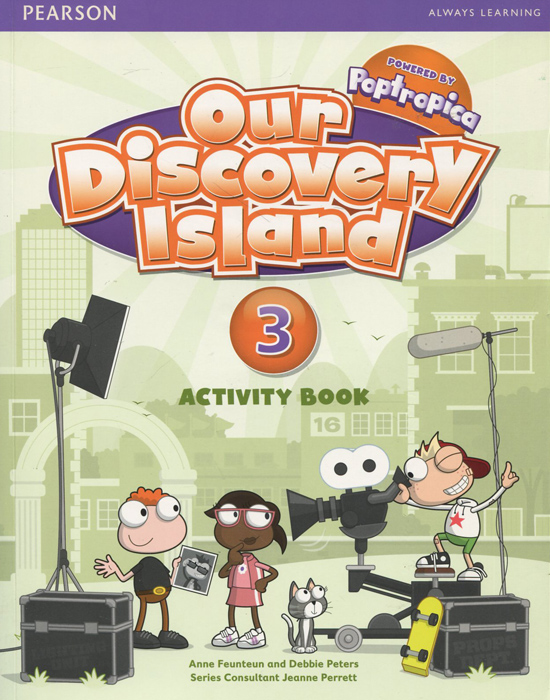 Our Discovery Island 3: Activity Book (+ CD-ROM) our discovery island 4 audio cd 3 лцн