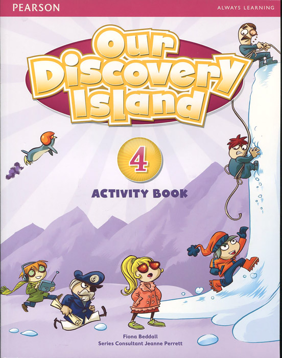 Our Discovery Island: Level 4 (+ CD-ROM) our discovery island level 4 cd rom