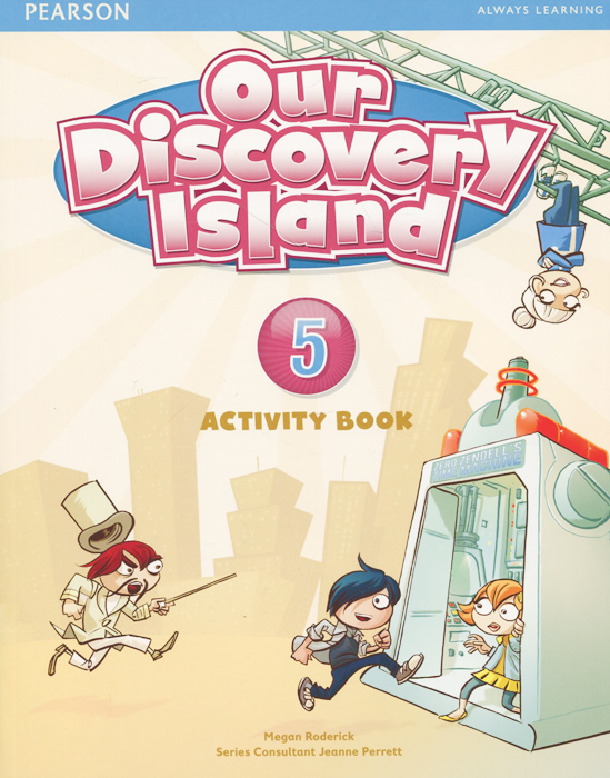 Our Discovery Island 5: Activity Book (+ CD-ROM) our discovery island 4 audio cd 3 лцн