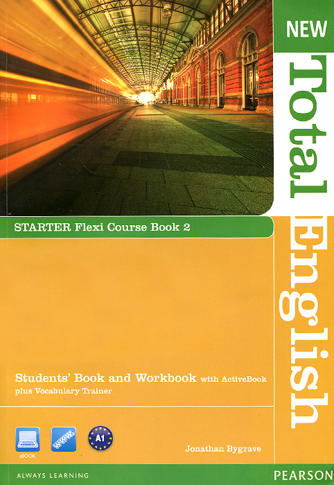 New Total English: Starter: Flexi Course Book 2: Students' Book and Workbook with ActiveBook plus Vocabulary Trainer (+ DVD-ROM)