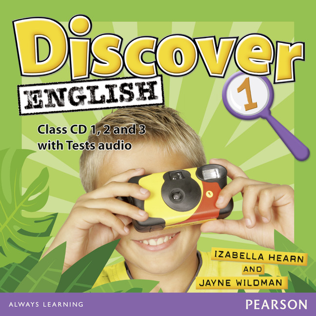 Discover English: Level 1: Class CD (аудиокурс на 3 CD) english with crosswords 3 dvdrom