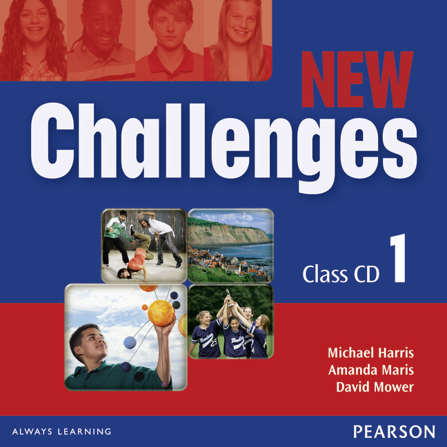 New Challenges 1: Class CD (аудиокурс на 3 CD) english learning and teaching in taiwan
