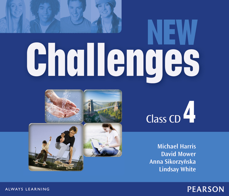 New Challenges 4: Class CD (аудиокурс на 3 CD) english learning and teaching in taiwan