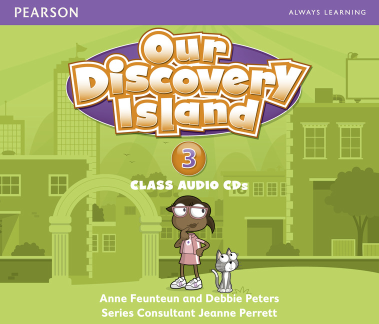 где купить Our Discovery Island 3 Audio CD x 3 лиценз. дешево