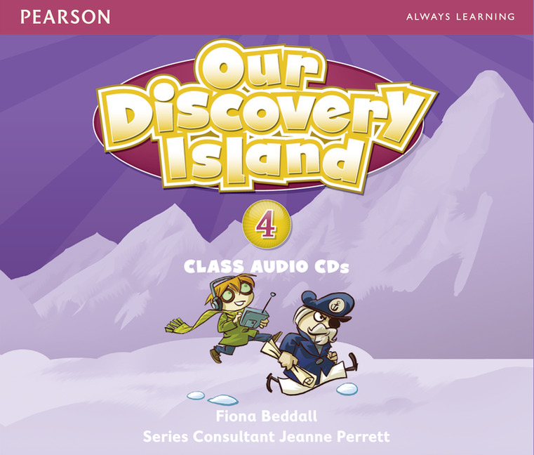 Our Discovery Island 4 Audio CD (3) лцн our discovery island 3 dvd