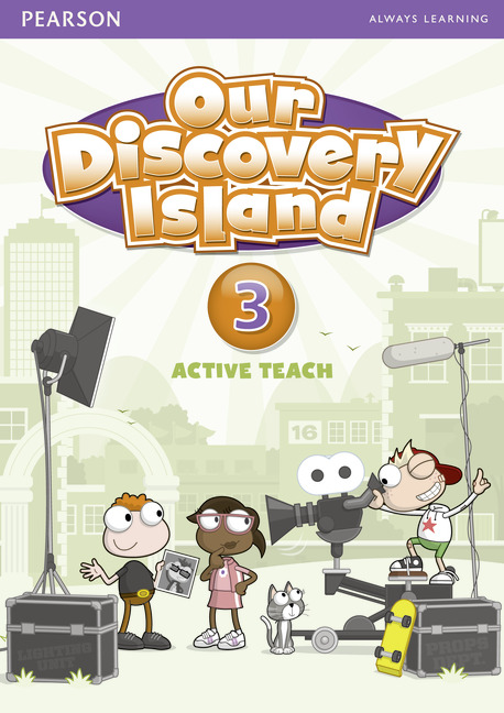 Our Discovery Island 3 Active Teach our discovery island 3 dvd