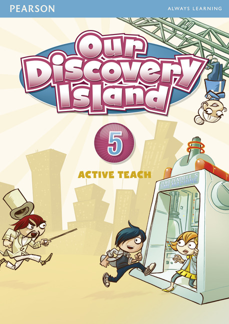 Our Discovery Island 5 Active Teach our discovery island 5 dvd