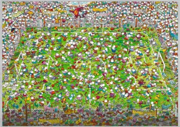 Сумашедший Кубок мира. Пазл, 4000 элементов