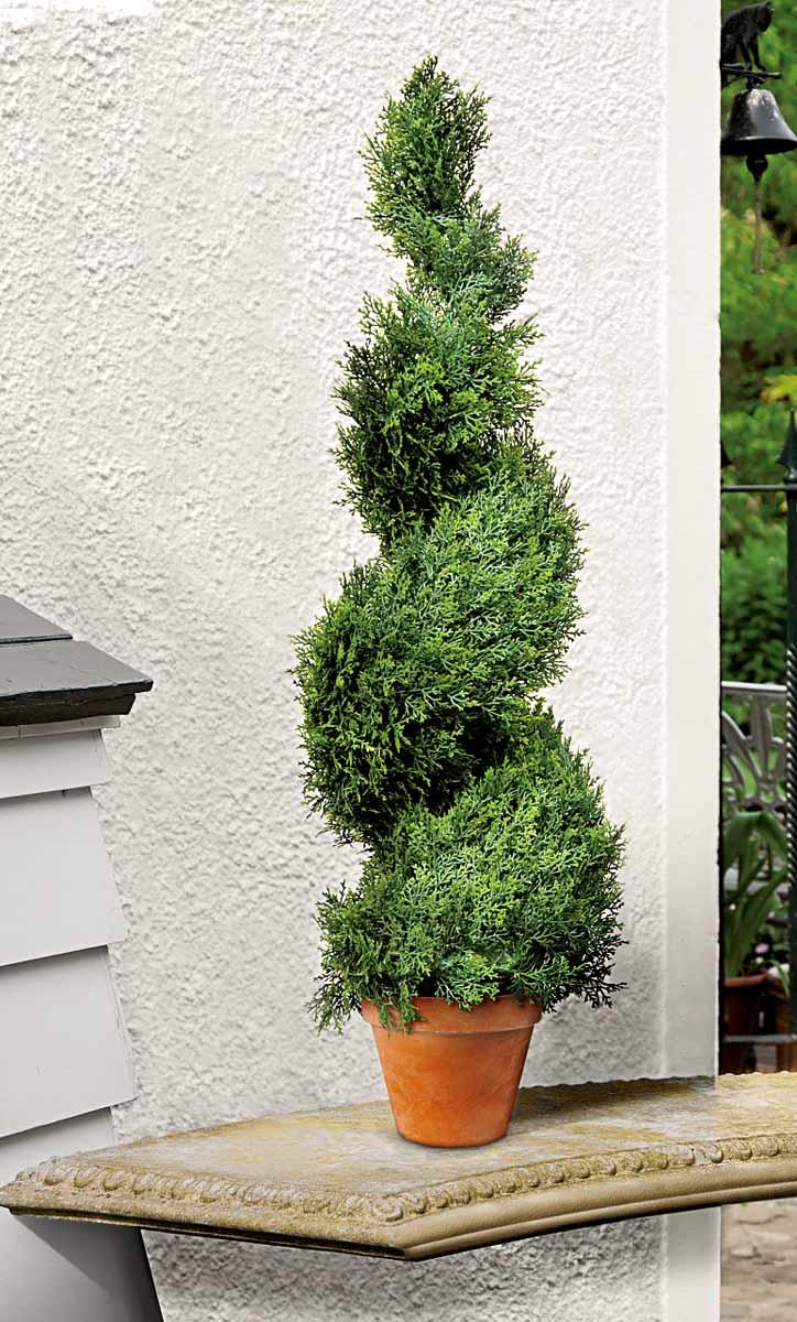 """Растение искусственное Gardman """"Swirl Border. Кипарис"""", высота 80 см"""
