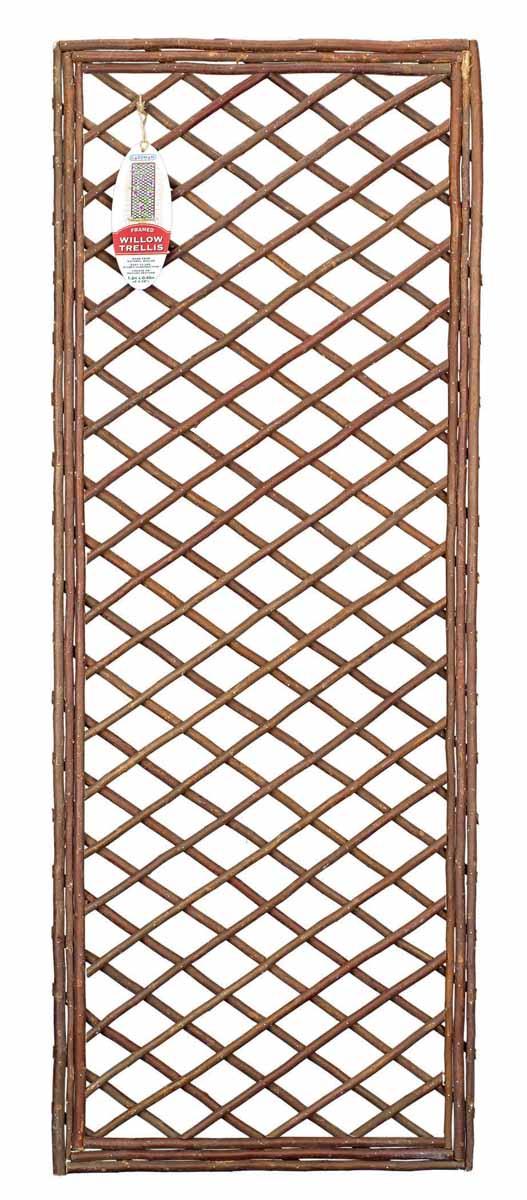 Панель решетчатая Gardman, 1,2 м x 45 см07521Решетчатая панель Gardman изготовлена из ивовых прутьев. Панель можно использовать для поддержки вьющихся растений или как экран, разграничивающий пространство. Решетчатая панель Gardman оригинально украсит ваш дом или сад и станет замечательным дизайнерским решением. Характеристики: Материал: ивовые прутья. Размер панели: 1,2 м x 45 см. Товары для садоводства от Gardman - это вещи, сделанные с любовью, с истинно английской практичностью, основанной на глубоких традициях садоводства Великобритании. Эти товары широко известны садоводам Европы, США, Канады и Японии. Демократичные цены и продуманный ассортимент Gardman завоевал признательность и российского покупателя, достойного хороших, качественных вещей. В ассортименте Gardman есть практически все, что нужно современному садоводу - от совочка для рассады до предметов декора и ландшафтного дизайна.