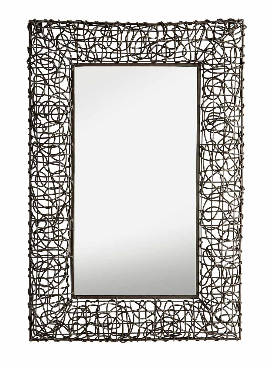 Зеркало настенное Gardman Decorative Woven, 70 см х 50 см. 17804 доска для заметок gardman love heart с мелом 21 х 25 см