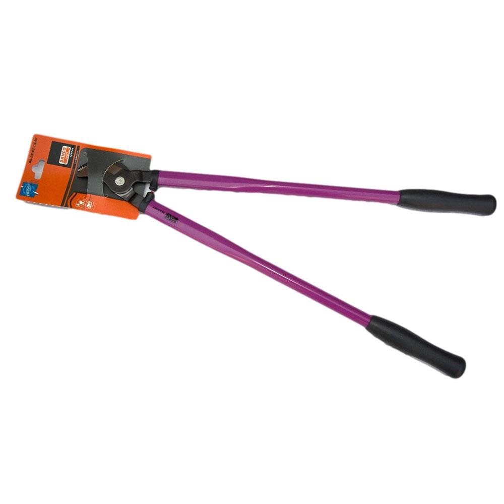 Сучкорез Bahco, цвет: фиолетовый, длина 65 см. PG-28-65-LILACPG-28-65-LILACСучкорез Bahco с крепкой режущей головкой предназначен для кустарников и маленьких деревьев. Стальные рукоятки с удобными пластиковыми захватами. Режущая головка из закаленной и отпущенной высокоуглеродистой стали.