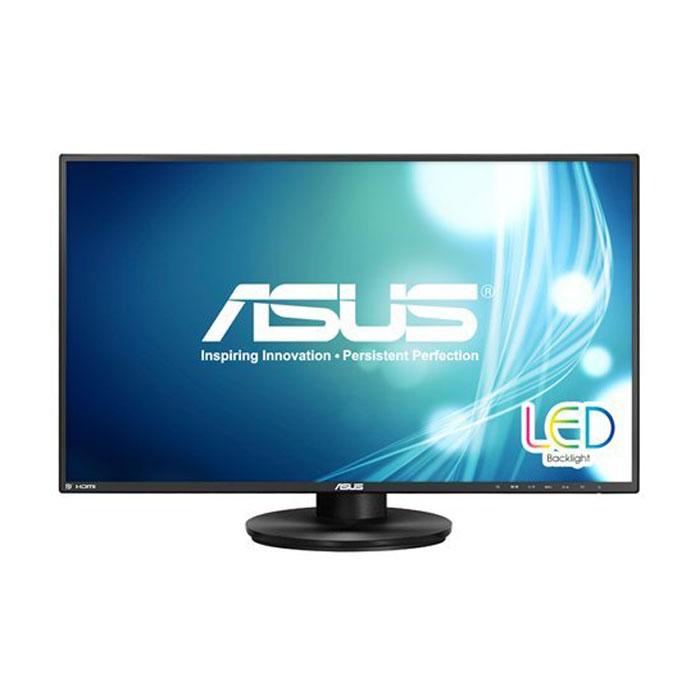 ASUS VN279QLB, Black монитор90LM00E1-B0137027-дюймовый монитор VN279QLB обладает очень узкой рамкой вокруг дисплея, что делает его идеальным решением для создания мультимониторных конфигураций. Он также может похвастать эргономичным дизайном и совместимостью с настенным крепежом стандарта VESA.Формат Full-HD и цифровые интерфейсы:Данный монитор обладает разрешением 1920x1080 пикселей и, таким образом, поддерживает формат видео Full-HD 1080p. Для подключения к источнику видеосигнала служат разъемы DisplayPort, HDMI/MHL и D-Sub.Технология Splendid Video Intelligence:Эксклюзивная технология Splendid Video Intelligence позволяет быстро настраивать монитор в соответствии с текущими задачами и условиями (игры, просмотр фото, работа в ночное время и т.д.), чтобы получить максимально качественное изображение. Всего доступно шесть вариантов настройки. Между ними можно легко переключаться нажатием на специально выделенную для этого кнопку.Широкие углы обзора:VN279QLB обладает широкими углами обзора – 178 градусов как по горизонтали, так и по вертикали. Благодаря этому изображение на его экране практически не претерпевает каких-либо искажений цветопередачи при изменении угла, под которым пользователь смотрит на экран.