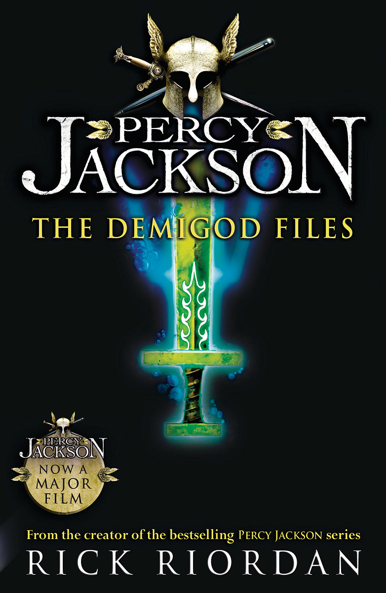 Percy Jackson: The Demigod Files riordan r percy jackson and the sea of monsters