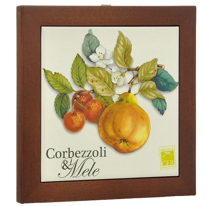 Подставка под горячее Nuova Cer Итальянские фрукты. NC6592-CEM-AL nuova cer итальянские фрукты nc7410 4 1 cem al