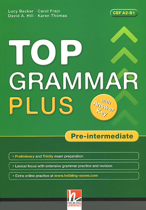 Top Grammar Plus: Pre-Intermediate (with CD-ROM) enterprise plus grammar book pre intermediate