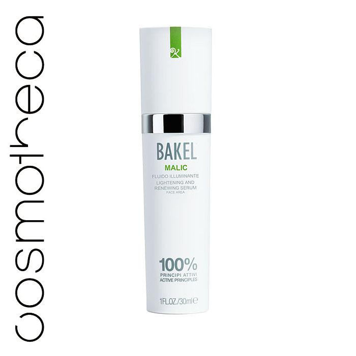 Bakel Сыворотка Malic для лица, обновляющая и придающая сияние, 30 млMALICИнновационная сыворотка Bakel Malic содержит яблочную кислоту, миндальную кислоту, винную кислоту и койевую кислоту, которые действуют в синергии, способствуя удалению мертвых клеток кожи и приданию ей сияния. Сыворотка помогает восстановить ровный цвет кожи и улучшает ее тон. Средство не нужно смывать. Характеристики:Объем: 30 мл. Товар сертифицирован.