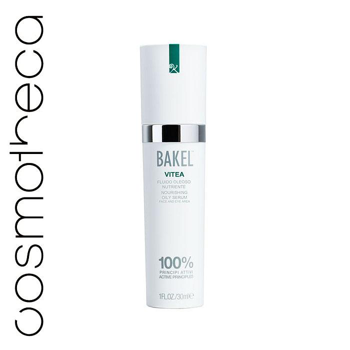 Bakel Сыворотка Vitea для лица и контура глаз, масляная, питательная, 30 млVITEAЖирная сыворотка Bakel Vitea содержит: витамин E, являющийся важнейшим компонентом в борьбе против свободных радикалов, ответственных за оксидативный стресс и преждевременное старение кожи; витамин A, предотвращающий процессы старения, типичные для сухой кожи, и уменьшающий обвисание кожи; масло абрикоса с его уникальным успокаивающим, питающим и смягчающим действием; диоксид кремния, обладающий способностями к обновлению кожи. Характеристики:Объем: 30 мл. Товар сертифицирован.