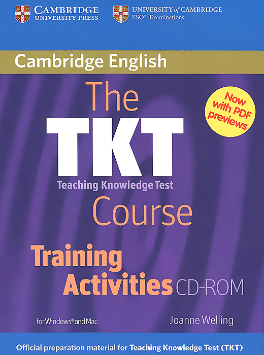 The TKT Course Training Activities (аудиокурс CD) the triathlon training book