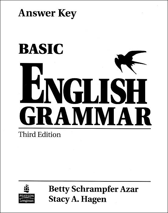 Basic English Grammar: Answer Key grammar and practice with answer key