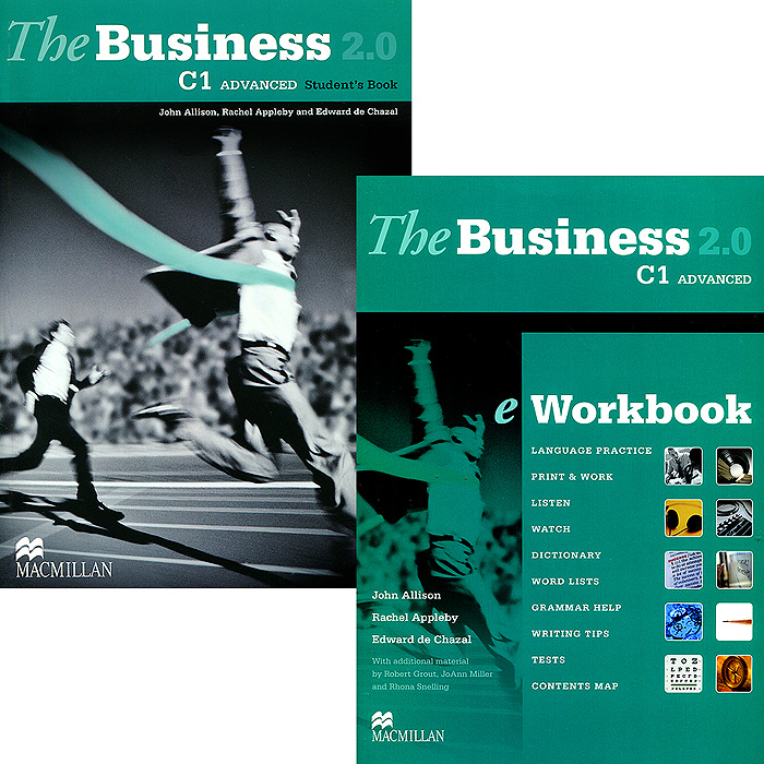 The Business 2.0 Advanced C1 Student's Book + eWorkbook (+ DVD-ROM) laptop palmrest