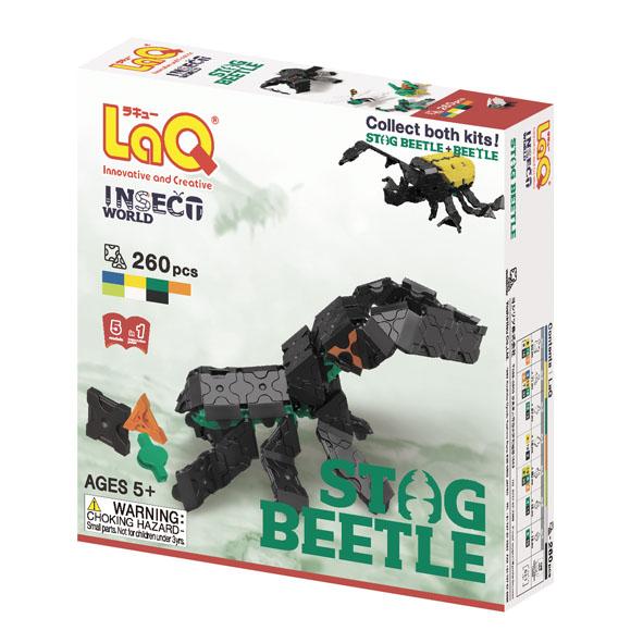 Конструктор из пластика LaQ Stag Beetle, 260 частей ботинки grinders stag киев