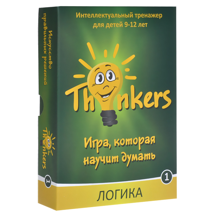 Логическая игра Thinkers Логика  - купить со скидкой