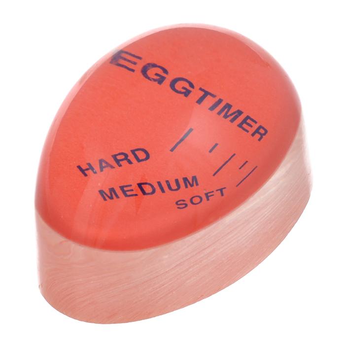 Индикатор для варки яиц Bradex ПодсказкаTD 0088Специальный таймер для варки Bradex Подсказка, выполненный из пластика, поможет сварить яйцо до нужной кондиции. Индикатор очень прост в использовании: необходимо поместить таймер в кастрюлю вместе с обычными яйцами и подождать некоторое время. После закипания воды по периметру прибора появится светло-желтый ободок, толщина которого покажет степень готовности яйца - всмятку, в мешочек, вкрутую. Индикатор Bradex Подсказка станет отличным кухонным приспособлением, облегчающим контроль над приготовлением различных блюд. Характеристики: Материал: пластик. Размер индикатора: 5,7 см х 4 см х 3 см.