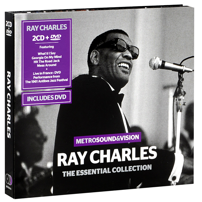 Рэй Чарльз Ray Charles. The Essential Collection (2 CD + DVD) рэй чарльз ray charles king of cool the genius of ray charles 3 cd