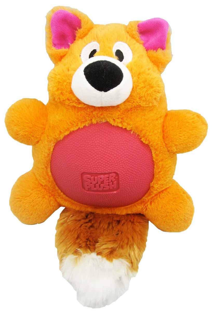 Игрушка плюшевая для собак R2P Pet Multi-tex. Лиса, 30 см. 1131 игрушка плюшевая для собак multi tex утка цвет зеленый желтый коричневый 19 см х 20 см х 8 см