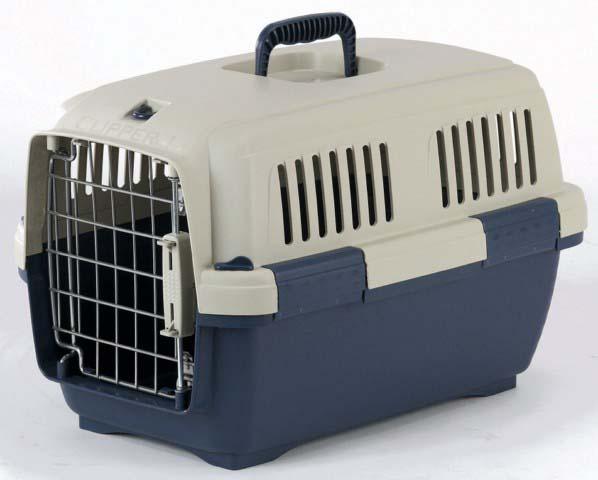 Переноска для животных Marchioro  Cayman 1 , цвет: бежевый, синий, 50 х 33 х 32 см - Переноски, товары для транспортировки