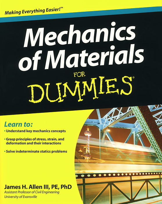 Mechanics of Materials for Dummies harry parker simplified mechanics and strength of materials