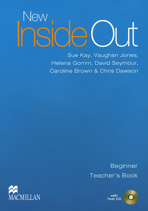 New Inside Out: Beginner: Teacher's Book (+ CD-ROM) a suit of chic rhinestone hollow out leaf necklace bracelet earrings and ring for women