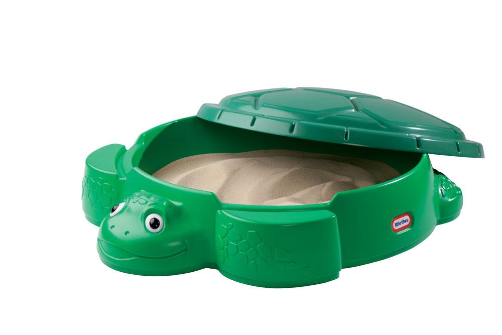 Песочница Little Tikes Черепаха , цвет: зеленый, MGA Entertainment, Спортивные игры  - купить со скидкой