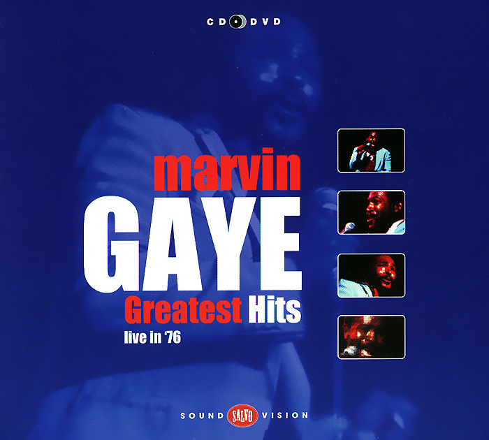Марвин Гэй Marvin Gaye. Greatest Hits Live In '76 (CD + DVD) i found you