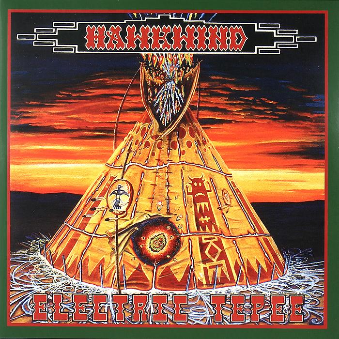 Hawkwind Hawkwind. Electric Teepee (2 LP) oem gib guitars black lp custom electric guitar with yellow pearl diamond inlay