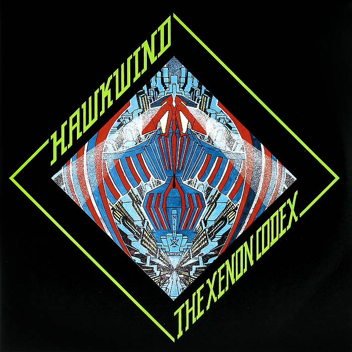 Hawkwind Hawkwind. The Xenon Codex (2 LP) колонка recci bluetooth travel rbs d1 green
