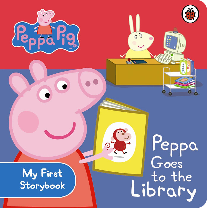 Peppa Pig: Peppa Goes To the Library peppa goes to hospital