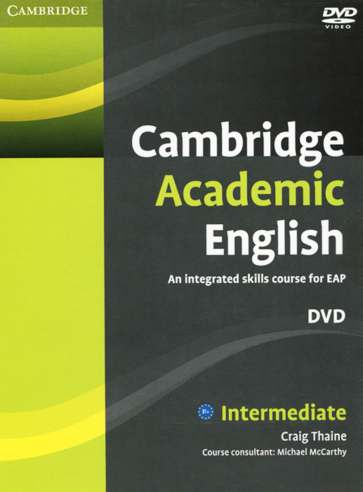 Cambridge Academic English: Intermediate (аудиокурс DVD) купить