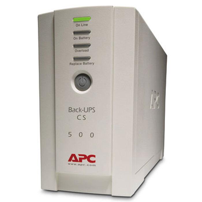 APC BK500EI Back-UPS 500 ИБП - Источники бесперебойного питания (UPS)