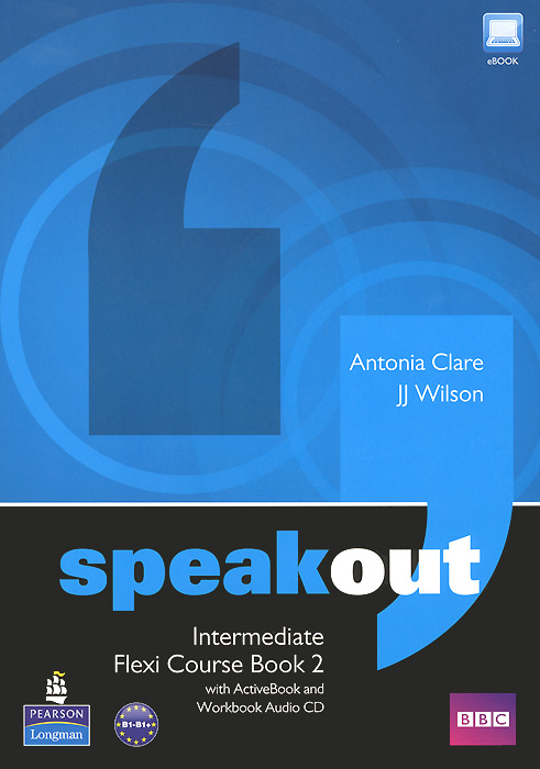 Speakout: Intermediate: Flexi Course Book 2 (+ 2 CD-ROM) lowell настенные часы lowell 11809g коллекция glass page 7