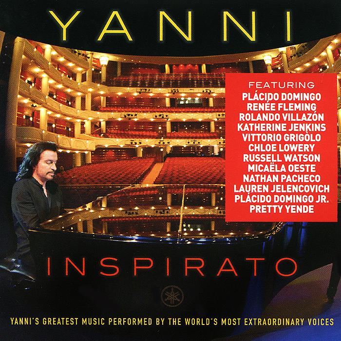 Yanni Yanni. Inspirato cd yanni inspirato